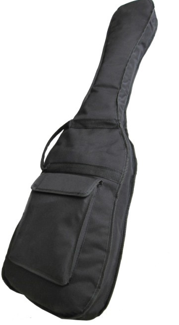 600D Electric Bass Gig Bag with Double 10mm Sponge Padded and lined